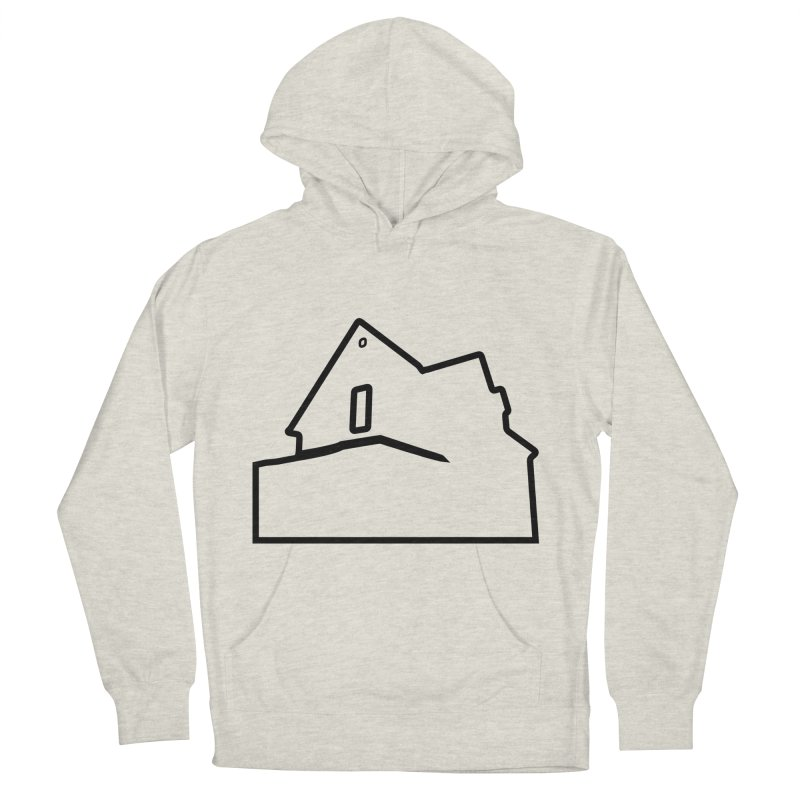 American Football - House Silhouette (black) Men's French Terry Pullover Hoody by Polyvinyl Threadless Shop