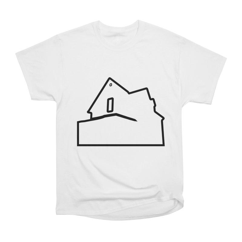 American Football - House Silhouette (black) Men's Heavyweight T-Shirt by Polyvinyl Threadless Shop