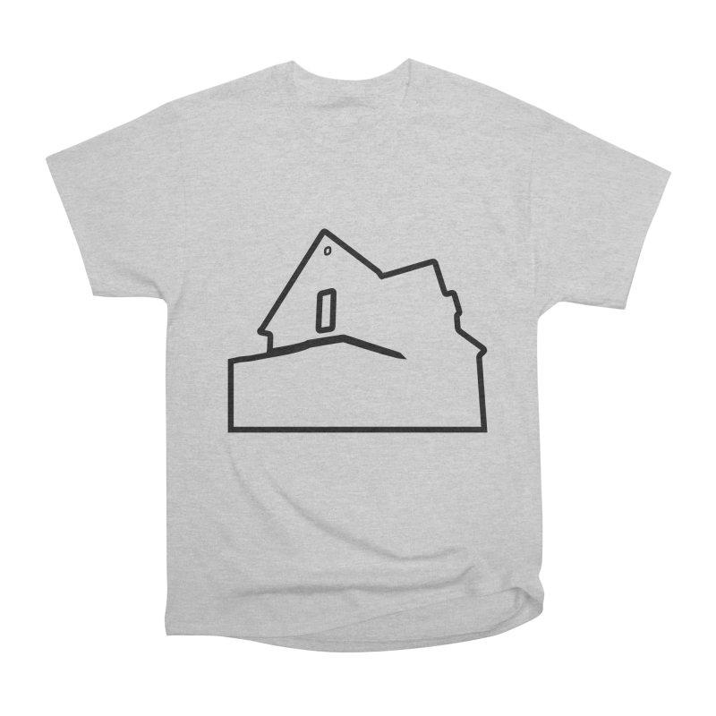 American Football - House Silhouette (black) Women's Heavyweight Unisex T-Shirt by Polyvinyl Threadless Shop