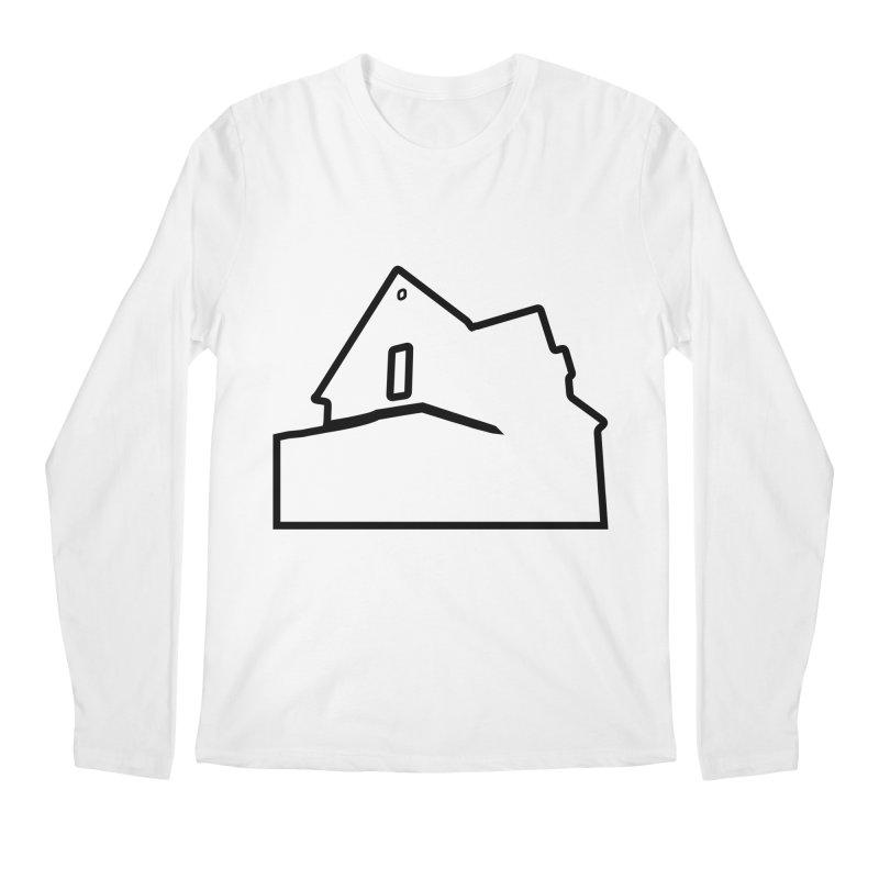 American Football - House Silhouette (black) Men's Regular Longsleeve T-Shirt by Polyvinyl Threadless Shop