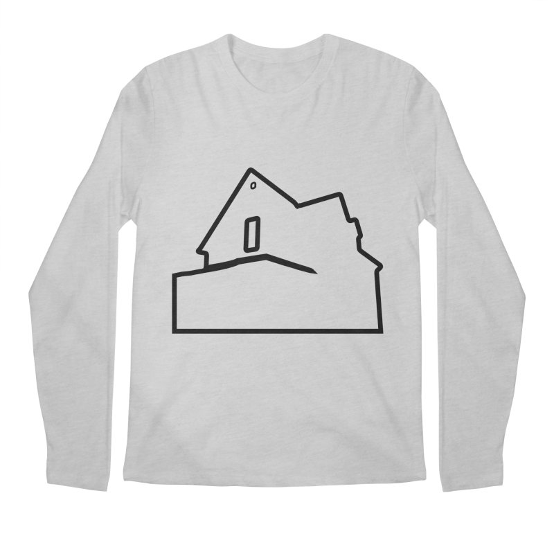 American Football - House Silhouette (black) Men's Regular Longsleeve T-Shirt by Polyvinyl Threadless Shop