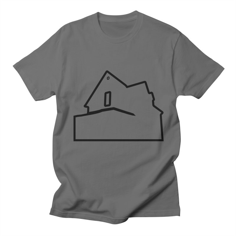 American Football - House Silhouette (black) Men's Regular T-Shirt by Polyvinyl Threadless Shop