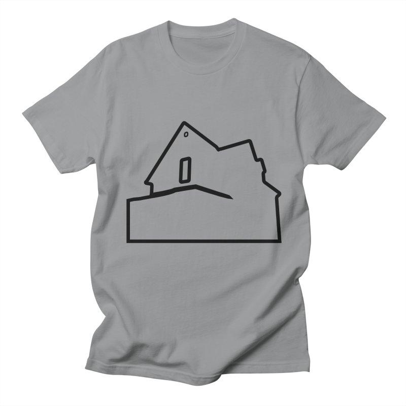 American Football - House Silhouette (black) Women's Regular Unisex T-Shirt by Polyvinyl Threadless Shop