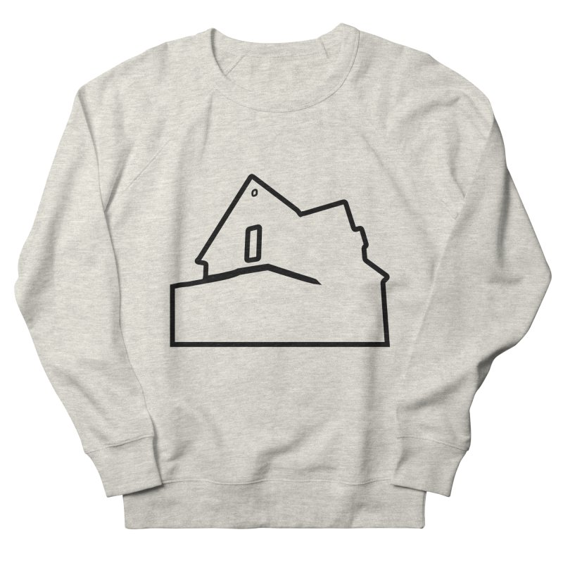 American Football - House Silhouette (black) Women's French Terry Sweatshirt by Polyvinyl Threadless Shop