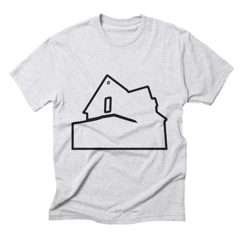 American Football - House Silhouette (black) Men's Triblend T-Shirt by Polyvinyl Threadless Shop
