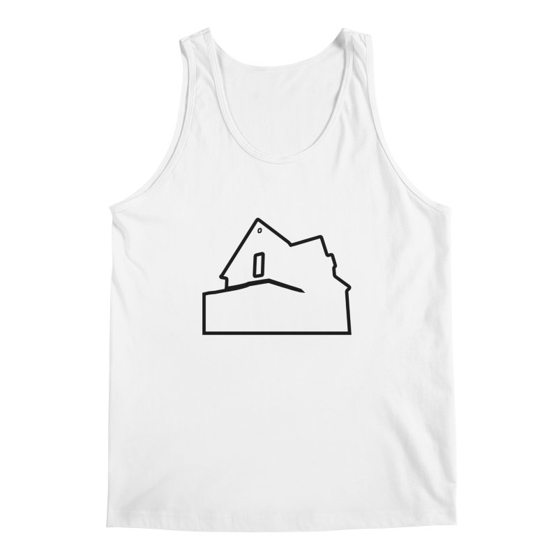 American Football - House Silhouette (black) Men's Regular Tank by Polyvinyl Threadless Shop
