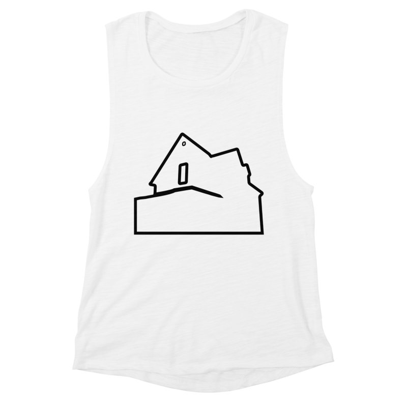 American Football - House Silhouette (black) Women's Muscle Tank by Polyvinyl Threadless Shop