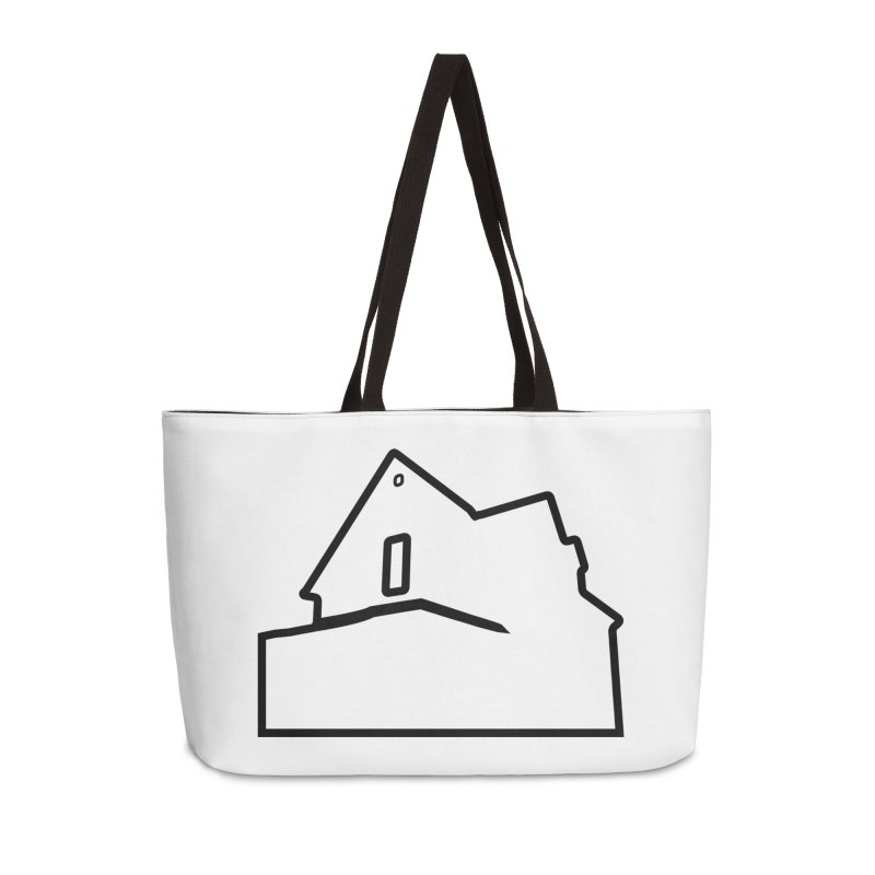American Football - House Silhouette (black) Accessories Weekender Bag Bag by Polyvinyl Threadless Shop