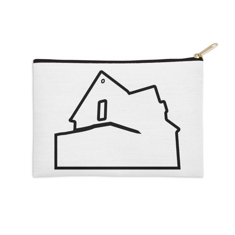 American Football - House Silhouette (black) Accessories Zip Pouch by Polyvinyl Threadless Shop