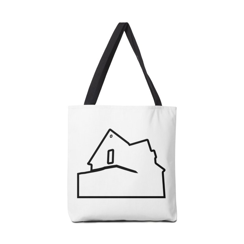 American Football - House Silhouette (black) Accessories Tote Bag Bag by Polyvinyl Threadless Shop