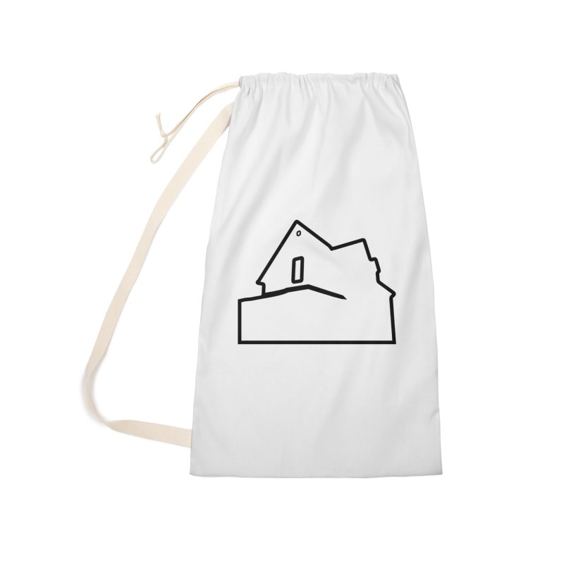 American Football - House Silhouette (black) Accessories Laundry Bag Bag by Polyvinyl Threadless Shop