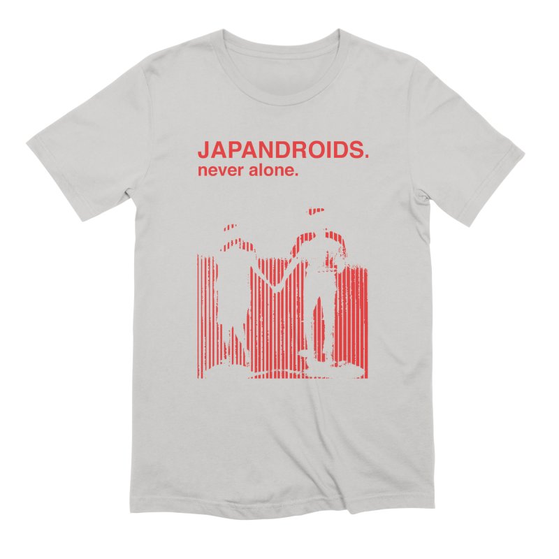 Japandroids - Never Alone in Men's Extra Soft T-Shirt Stone by Polyvinyl Threadless Shop