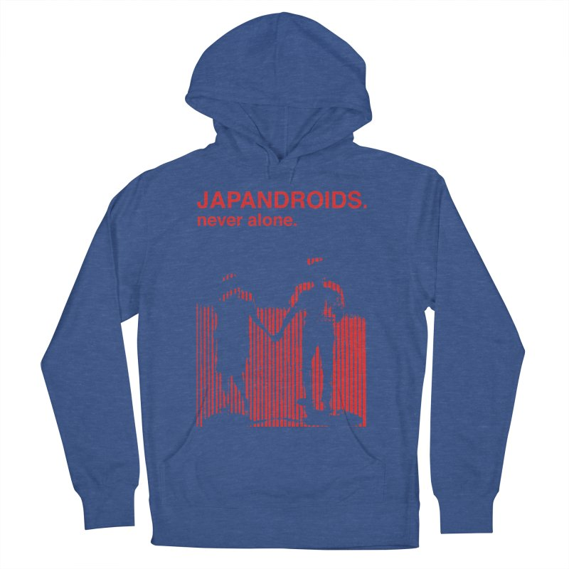 Japandroids - Never Alone Men's French Terry Pullover Hoody by Polyvinyl Threadless Shop