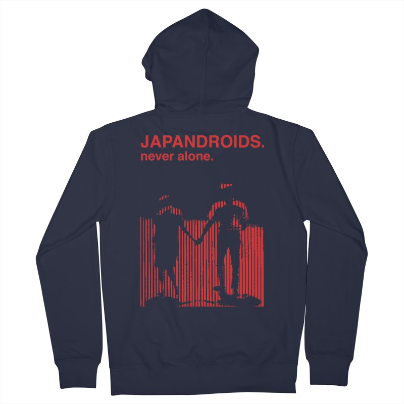 Japandroids - Never Alone Women's Zip-Up Hoody by Polyvinyl Threadless Shop