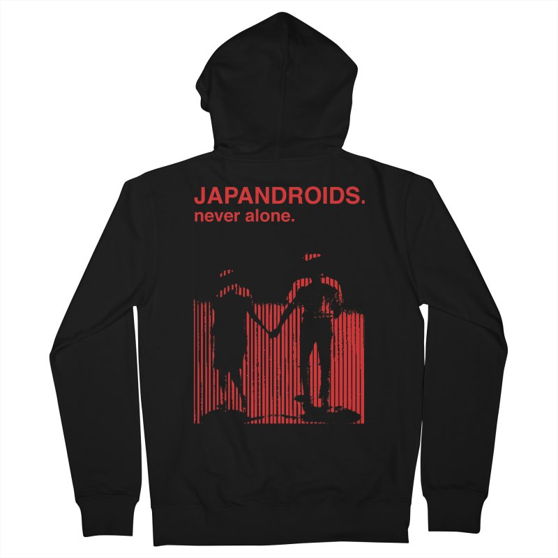 Japandroids - Never Alone Men's Zip-Up Hoody by Polyvinyl Threadless Shop