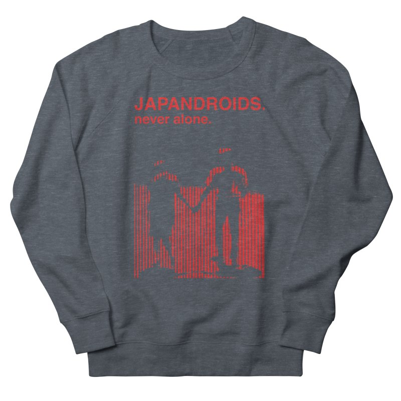 Japandroids - Never Alone Men's Sweatshirt by Polyvinyl Threadless Shop