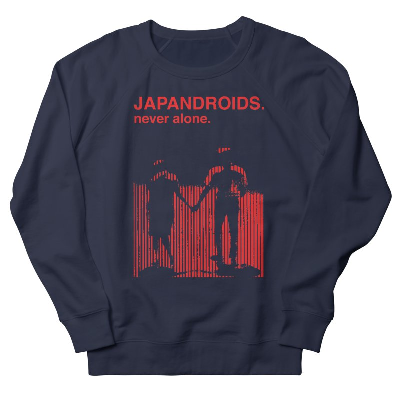 Japandroids - Never Alone Men's French Terry Sweatshirt by Polyvinyl Threadless Shop