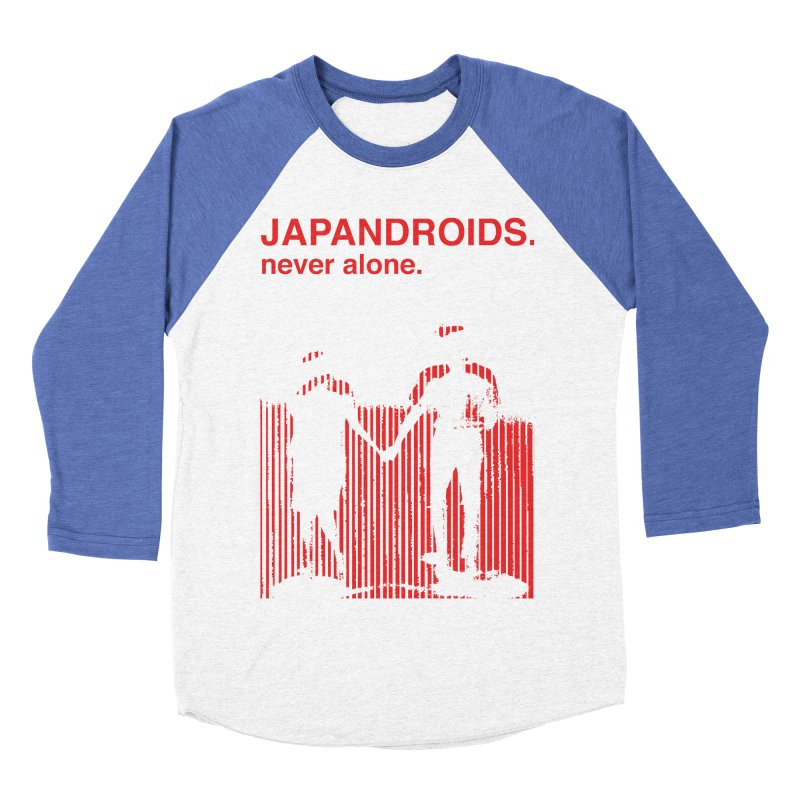 Japandroids - Never Alone Women's Baseball Triblend T-Shirt by Polyvinyl Threadless Shop