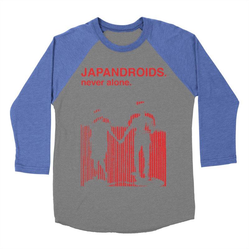 Japandroids - Never Alone Women's Baseball Triblend T-Shirt by Polyvinyl Threadless Shop