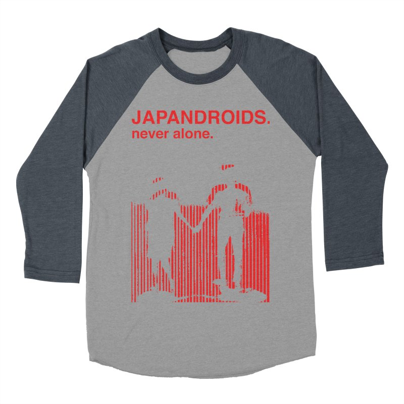 Japandroids - Never Alone Men's Baseball Triblend T-Shirt by Polyvinyl Threadless Shop