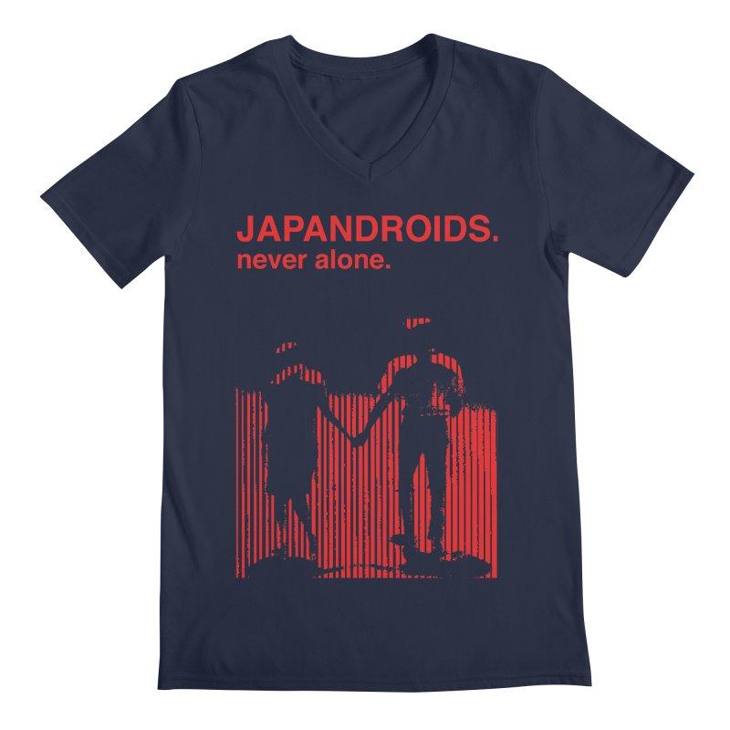 Japandroids - Never Alone Men's V-Neck by Polyvinyl Threadless Shop