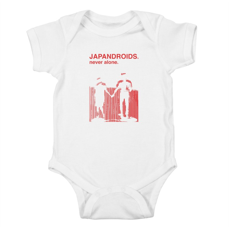 Japandroids - Never Alone Kids Baby Bodysuit by Polyvinyl Threadless Shop
