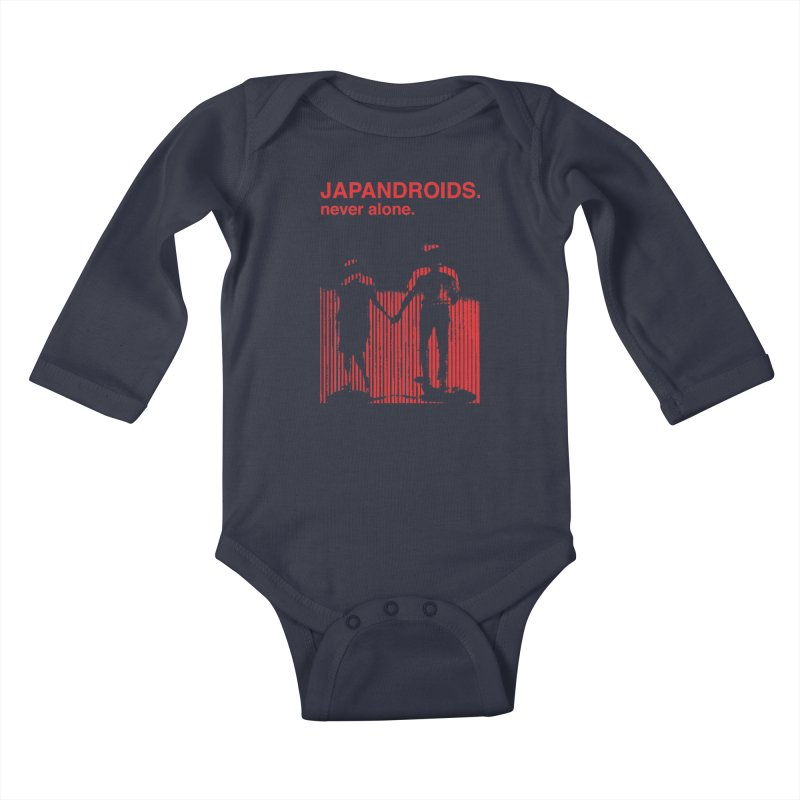 Japandroids - Never Alone Kids Baby Longsleeve Bodysuit by Polyvinyl Threadless Shop