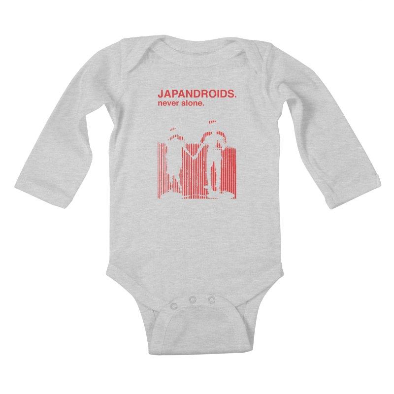Japandroids - Never Alone Kids Baby Longsleeve Bodysuit by Polyvinyl Threadless Shop