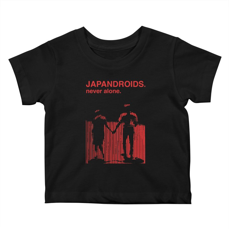 Japandroids - Never Alone Kids Baby T-Shirt by Polyvinyl Threadless Shop