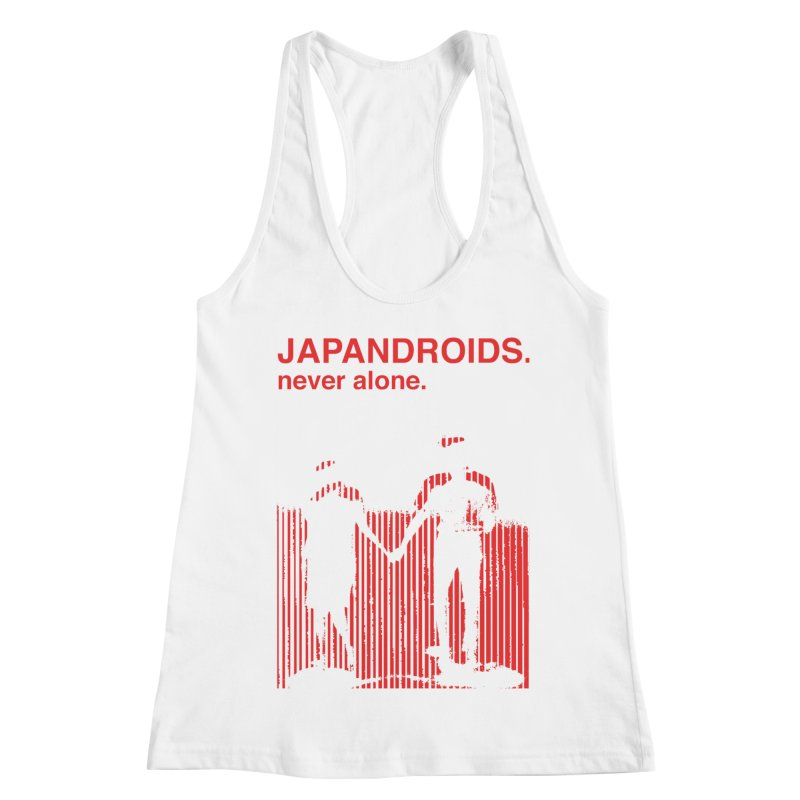 Japandroids - Never Alone Women's Racerback Tank by Polyvinyl Threadless Shop