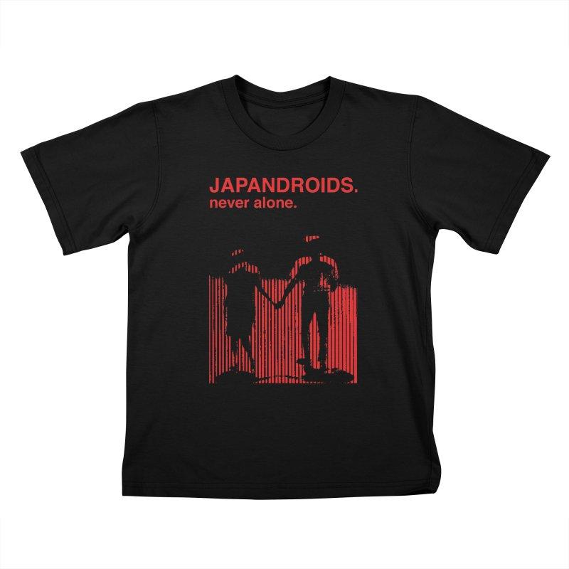 Japandroids - Never Alone Kids T-Shirt by Polyvinyl Threadless Shop