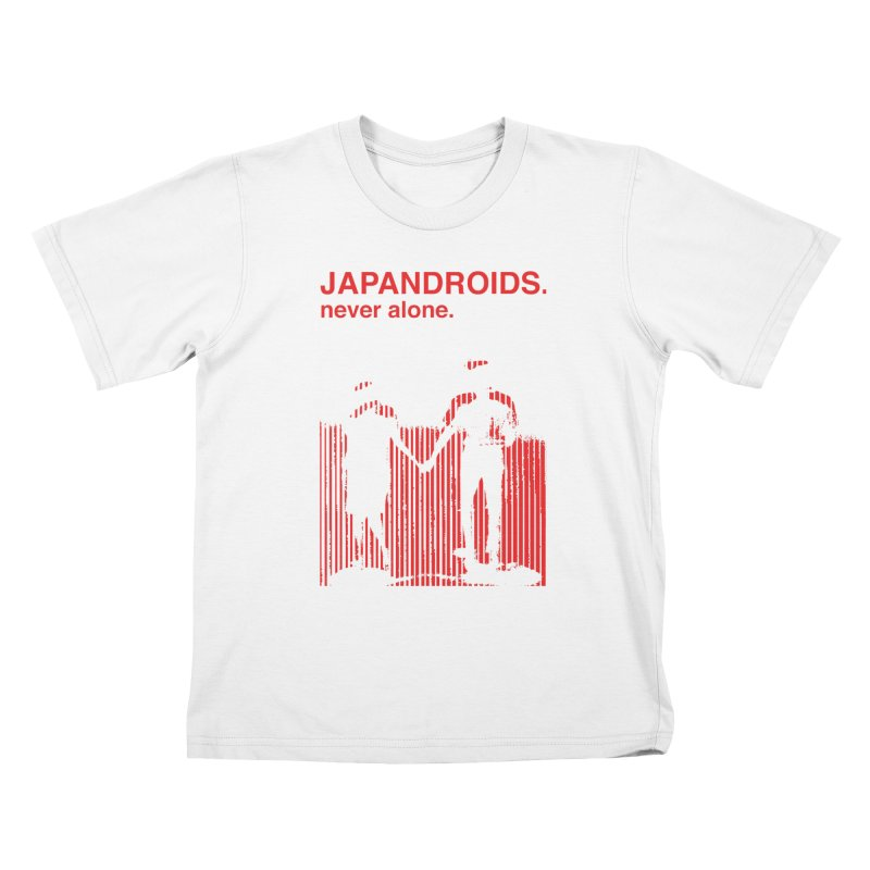 Japandroids - Never Alone Kids T-Shirt by Polyvinyl Threadless Shop