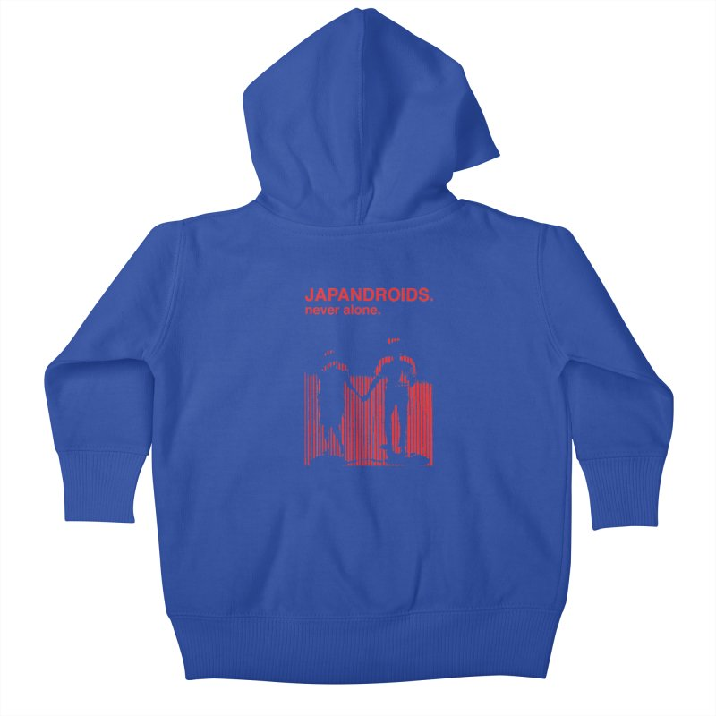 Japandroids - Never Alone Kids Baby Zip-Up Hoody by Polyvinyl Threadless Shop
