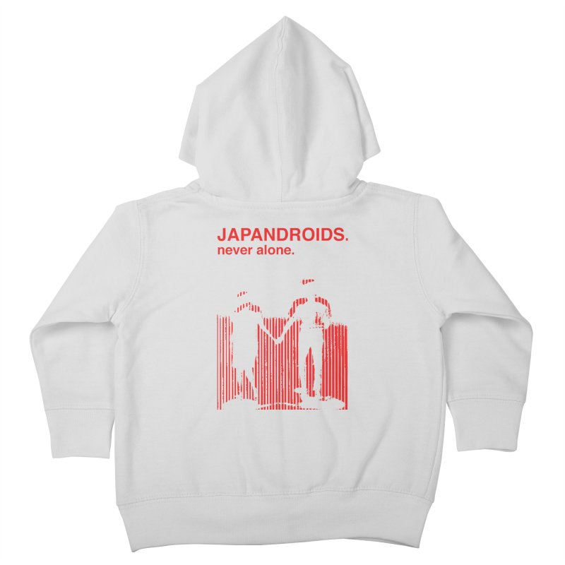 Japandroids - Never Alone Kids Toddler Zip-Up Hoody by Polyvinyl Threadless Shop