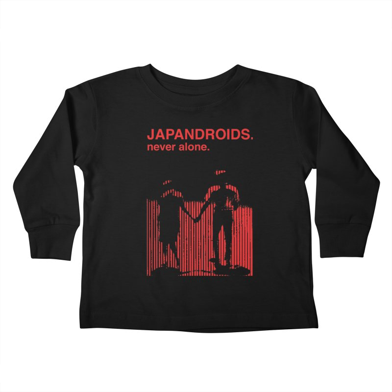 Japandroids - Never Alone Kids Toddler Longsleeve T-Shirt by Polyvinyl Threadless Shop