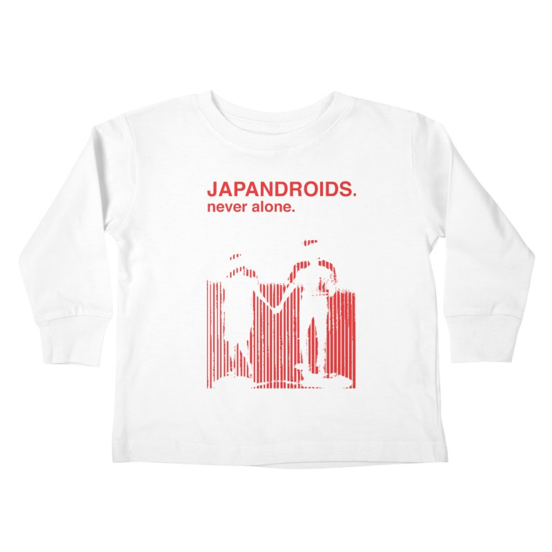 Japandroids - Never Alone Kids Toddler Longsleeve T-Shirt by Polyvinyl Threadless Shop