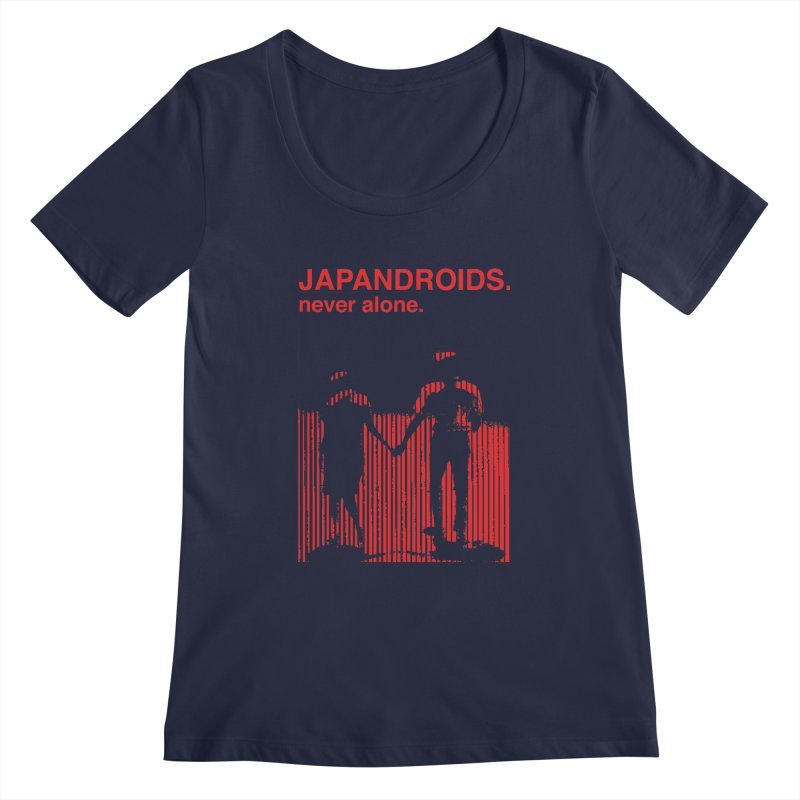 Japandroids - Never Alone Women's Scoopneck by Polyvinyl Threadless Shop