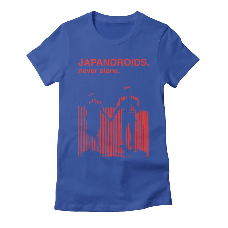 Japandroids - Never Alone Women's Fitted T-Shirt by Polyvinyl Threadless Shop