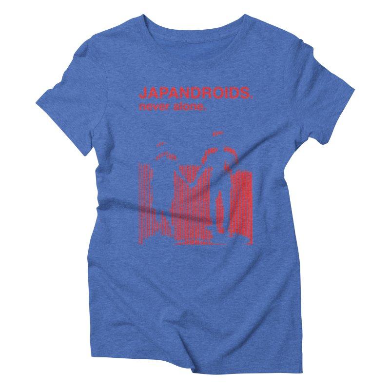 Japandroids - Never Alone Women's Triblend T-shirt by Polyvinyl Threadless Shop