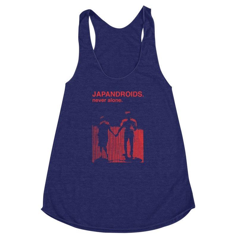 Japandroids - Never Alone Women's Racerback Triblend Tank by Polyvinyl Threadless Shop