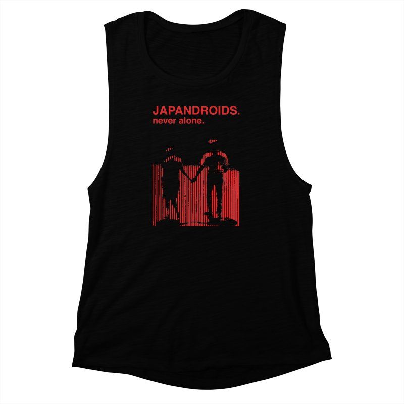 Japandroids - Never Alone Women's Muscle Tank by Polyvinyl Threadless Shop