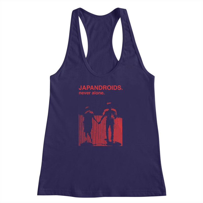 Japandroids - Never Alone Women's Racerback Tank by Polyvinyl Threadless Shop