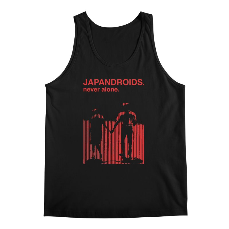 Japandroids - Never Alone Men's Tank by Polyvinyl Threadless Shop