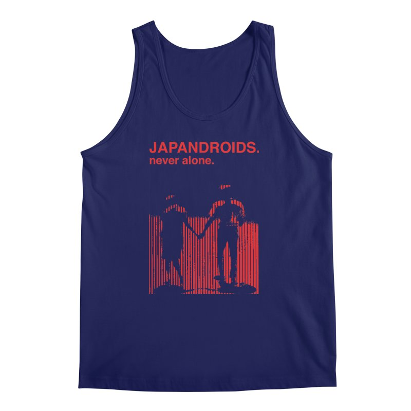 Japandroids - Never Alone Men's Regular Tank by Polyvinyl Threadless Shop