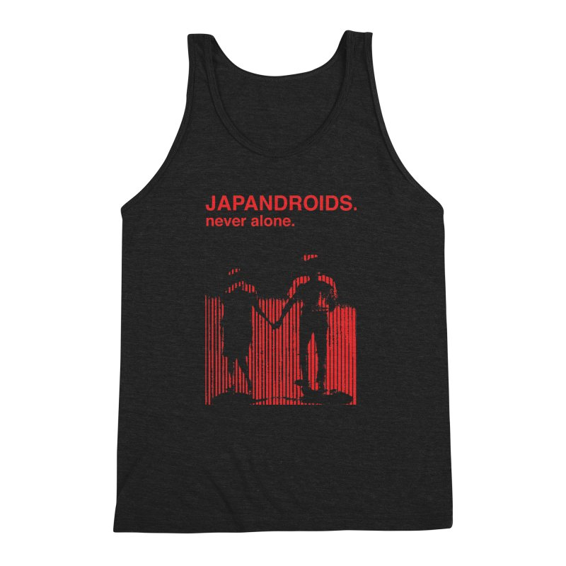 Japandroids - Never Alone Men's Triblend Tank by Polyvinyl Threadless Shop