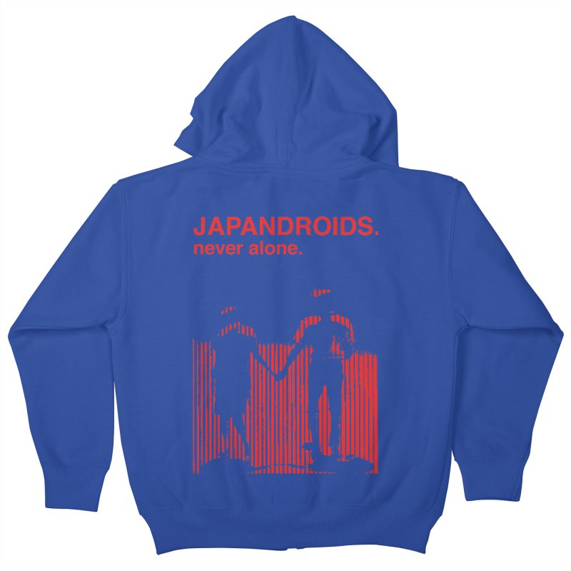 Japandroids - Never Alone Kids Zip-Up Hoody by Polyvinyl Threadless Shop