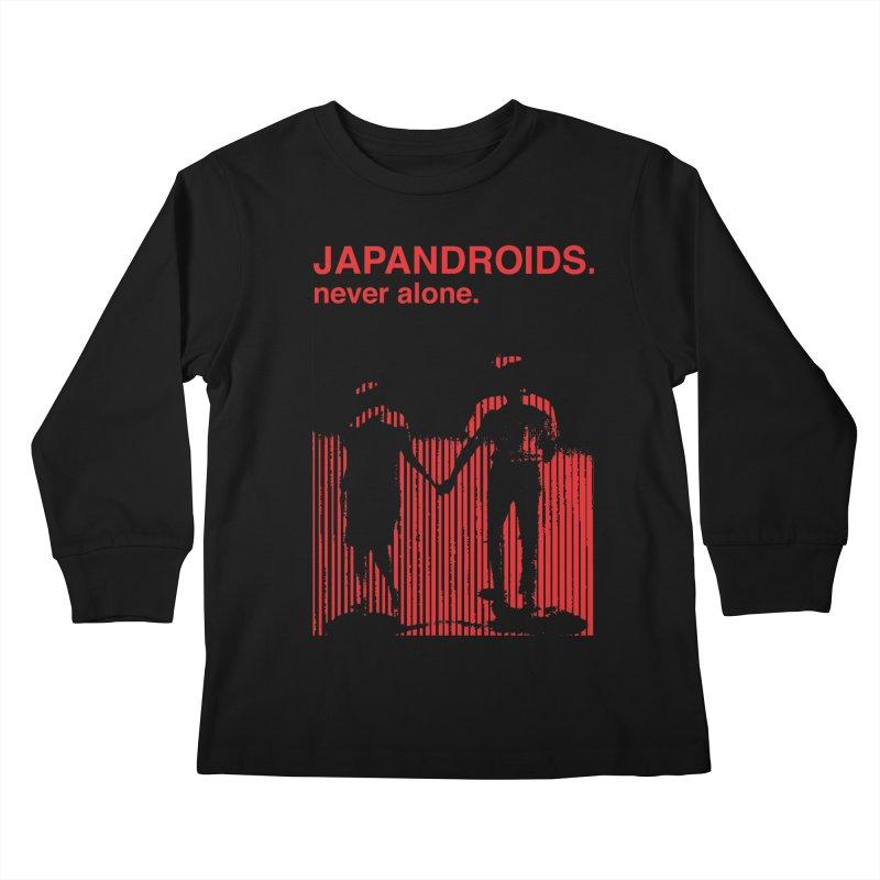 Japandroids - Never Alone Kids Longsleeve T-Shirt by Polyvinyl Threadless Shop