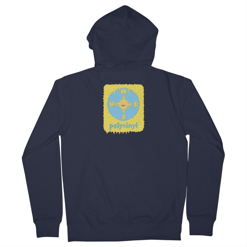 Polyvinyl x David Barnes Collaboration Women's Zip-Up Hoody by Polyvinyl Threadless Shop