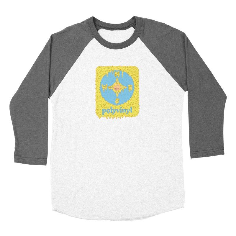 Polyvinyl x David Barnes Collaboration Women's Baseball Triblend T-Shirt by Polyvinyl Threadless Shop