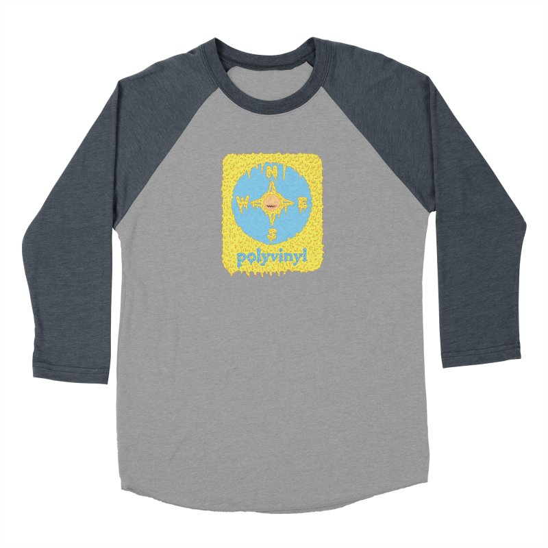 Polyvinyl x David Barnes Collaboration Women's Baseball Triblend T-Shirt by Polyvinyl Threadless Shop